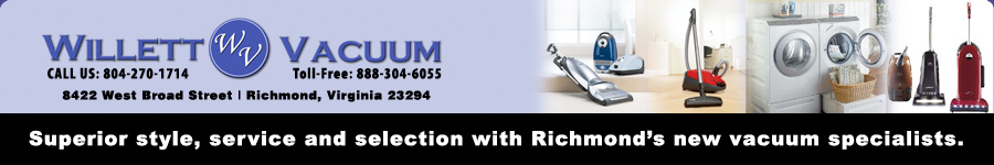 Willett Vacuum - Richmond's Vacuum Specialists